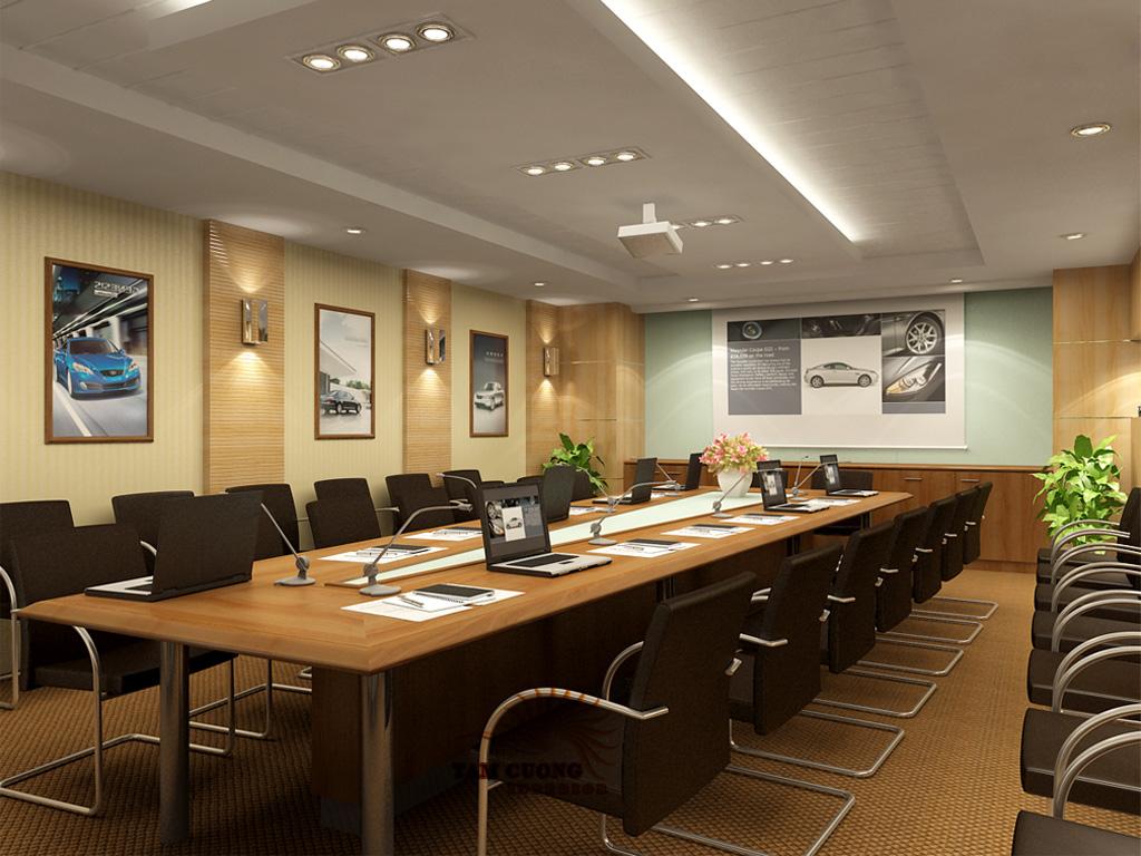 Chọn bàn phòng họp phù hợp với không gian