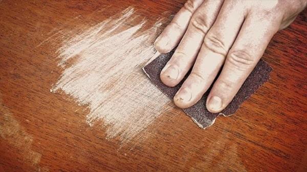 Khắc phục lớp sơn phủ bên ngoài - Bước 1