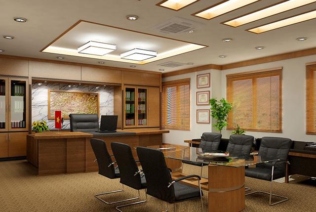 Nên chọn mẫu bàn giám đốc phù hợp với không gian