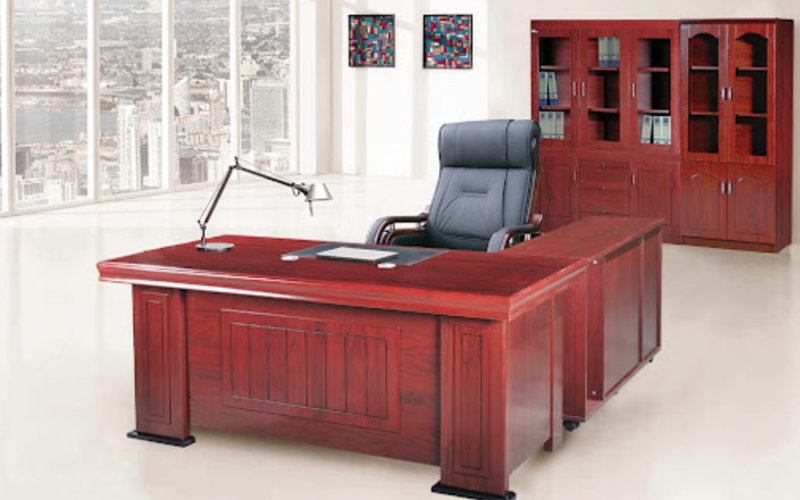 Top 5 mẫu bàn giám đốc gỗ Hoà Phát sang chảnh hiện đại
