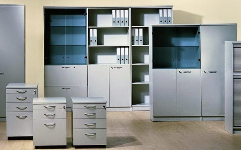 Tủ văn phòng cánh lùa - Thiết kế thông minh và tiết kiệm diện tích